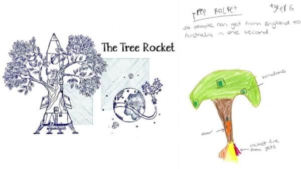 4 albero razzo