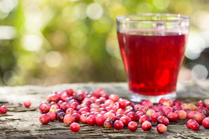 cranberry succo
