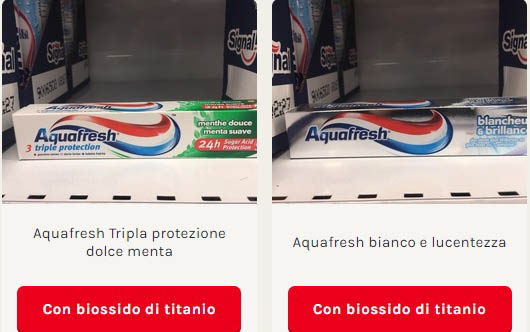dentifrici acqua fresh