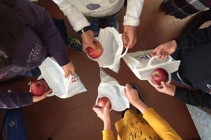 sacchetti Ribò scuole bologna