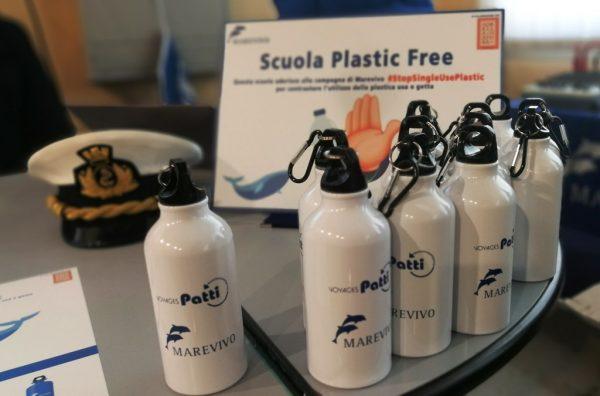 scuola plastic free borracce
