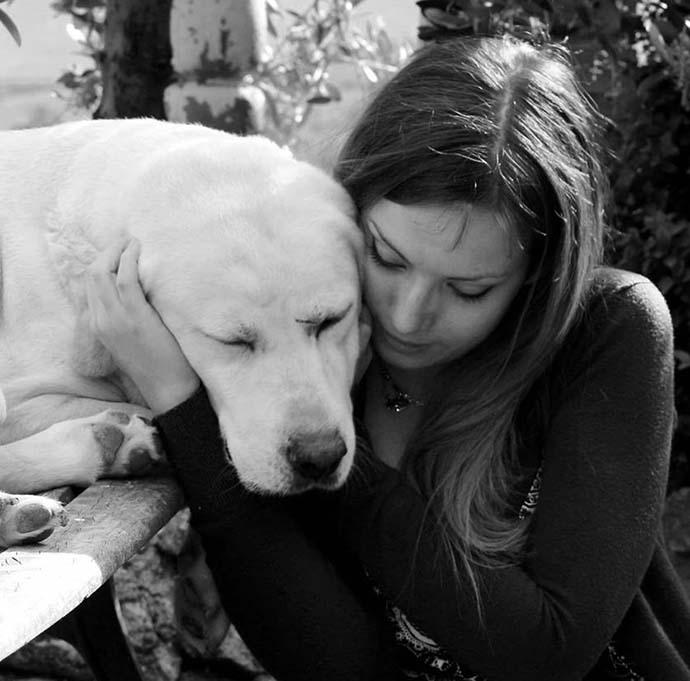 volontaria cani