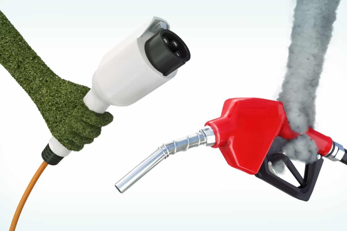 auto elettriche e diesel