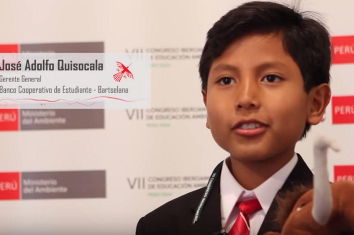 banca bambino 7 anni perù