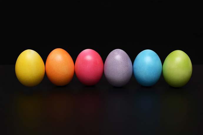 colorare uova pasqua 1