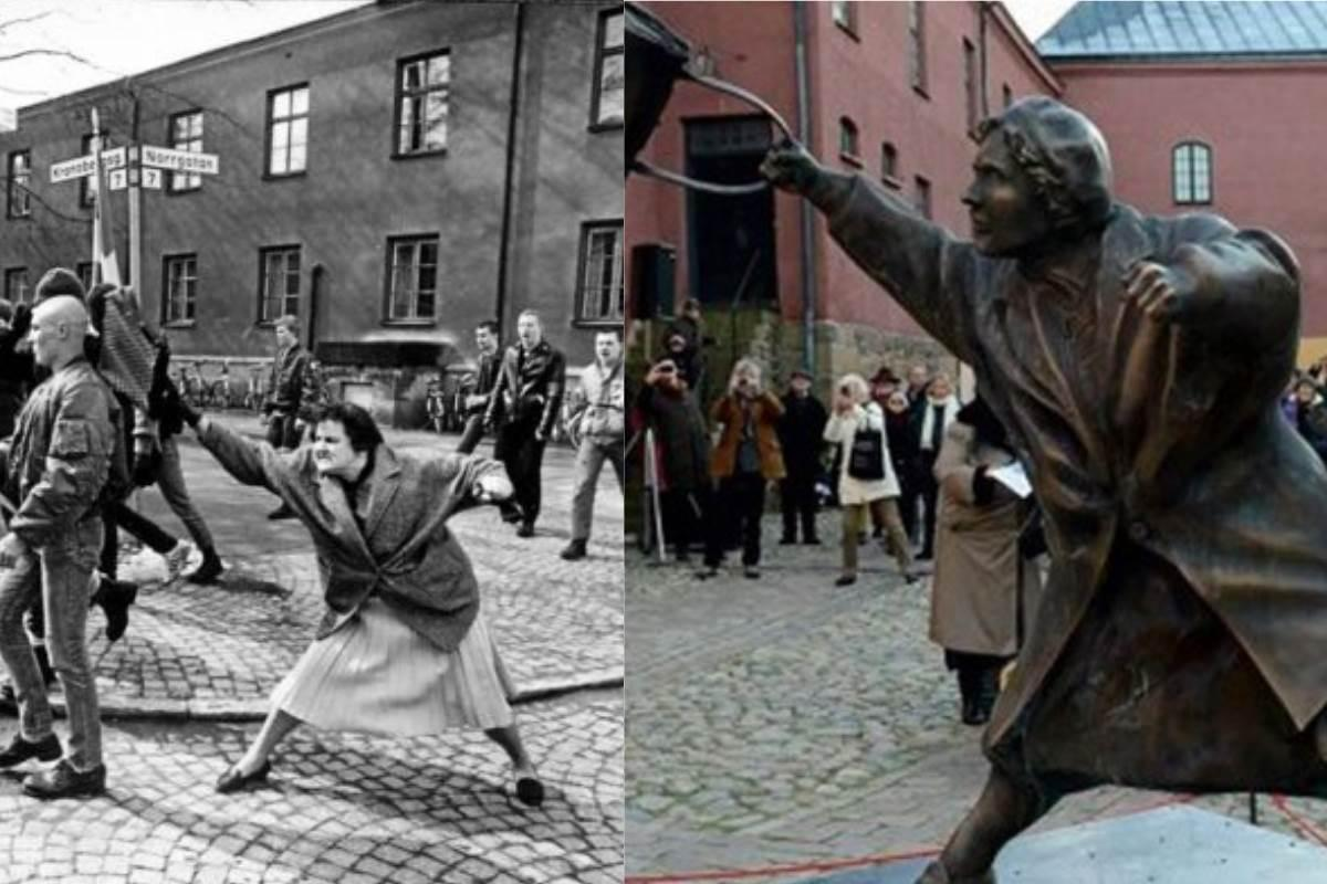 statua-donna-con-la-borsetta