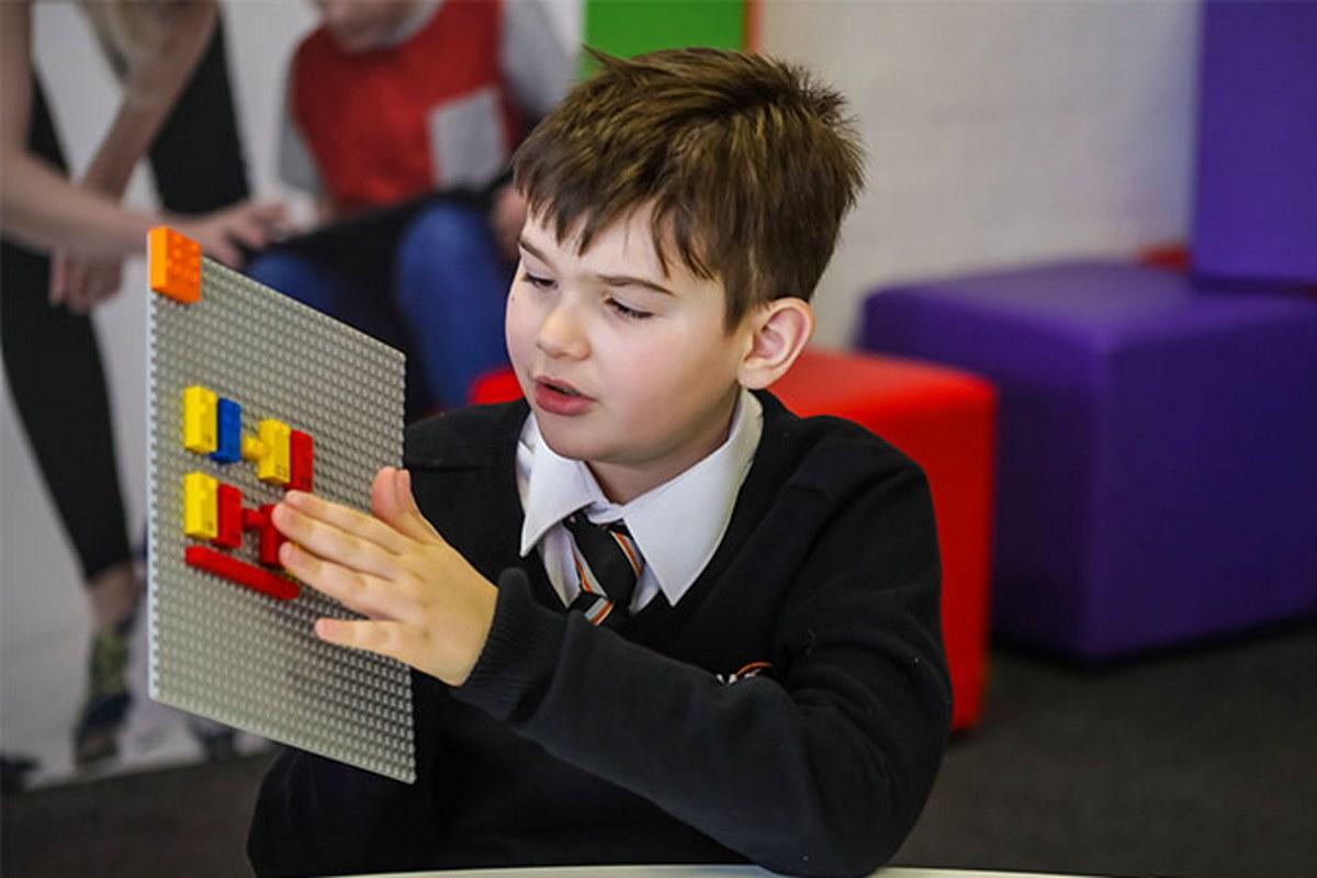 lego braille bricks bambini non vedenti