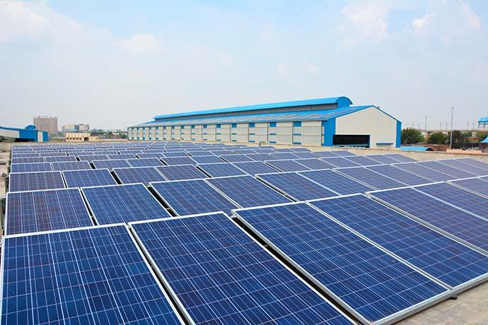 pannelli solari metro dehli1