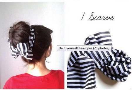 acconciatura 6 foulard