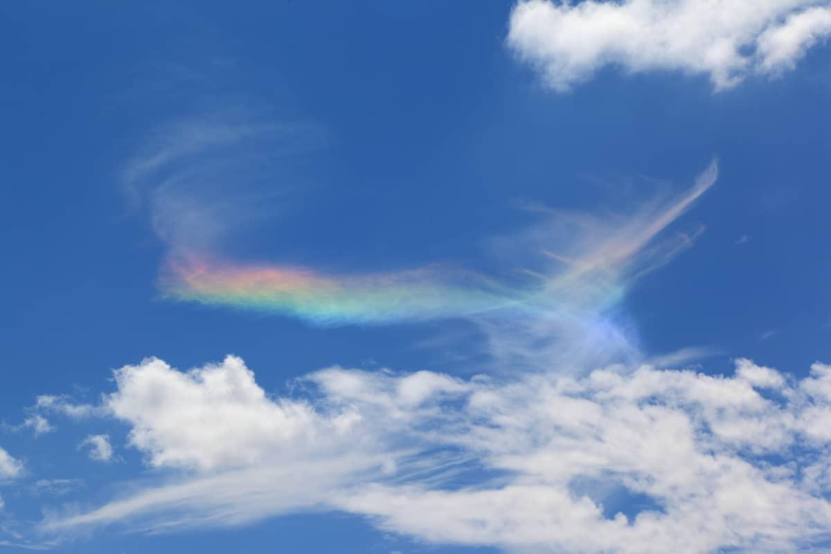 arcobaleno di fuoco