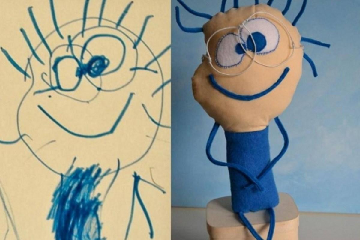 Questa Artista Trasforma I Disegni Dei Bambini In Straordinari