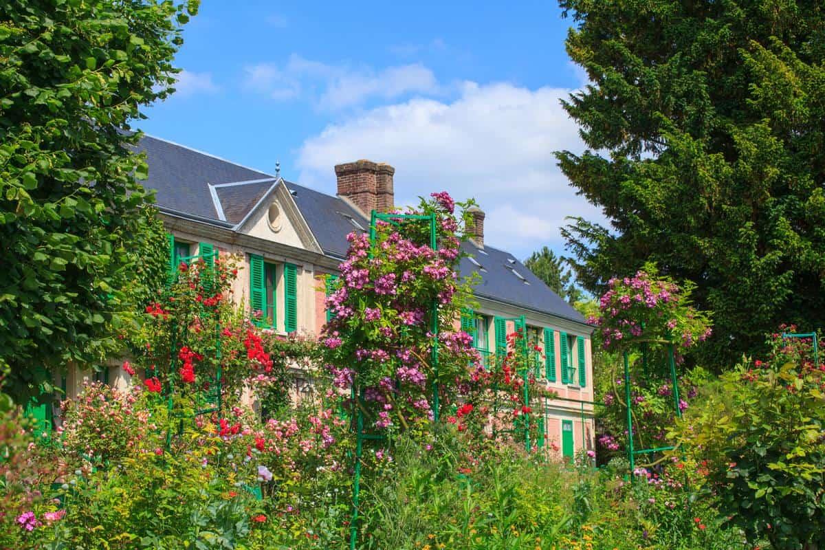 Maison Bleue di Monet