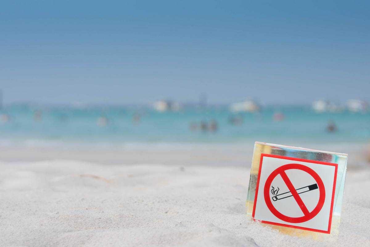 divieto fumo spiagge