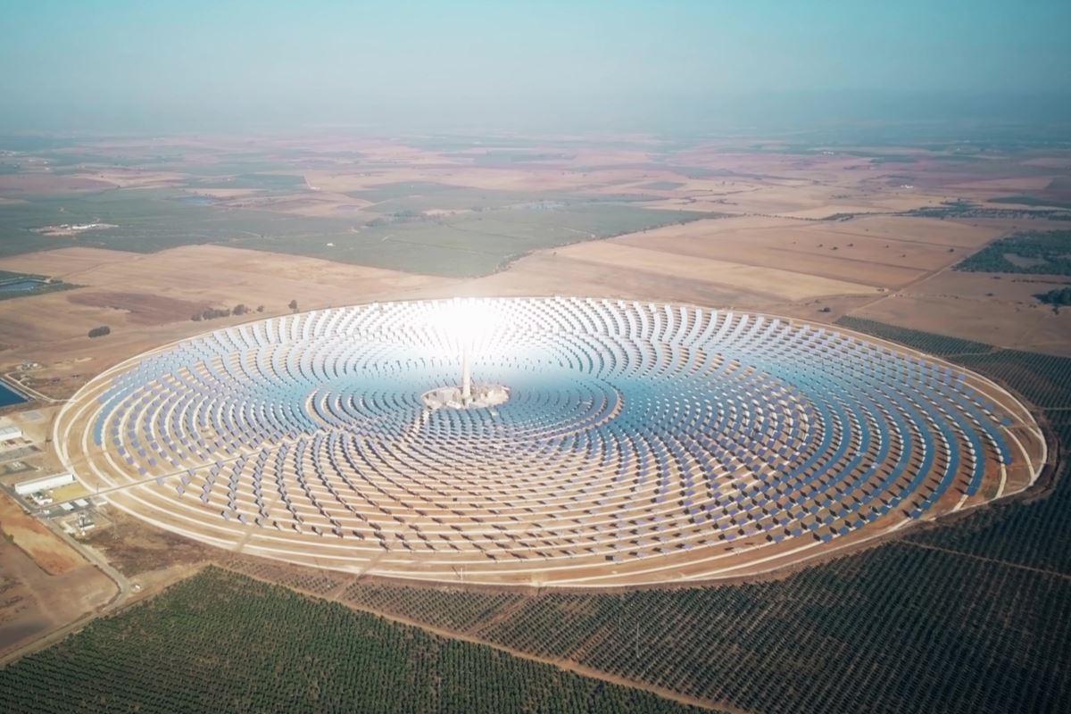 solare nel Sahara