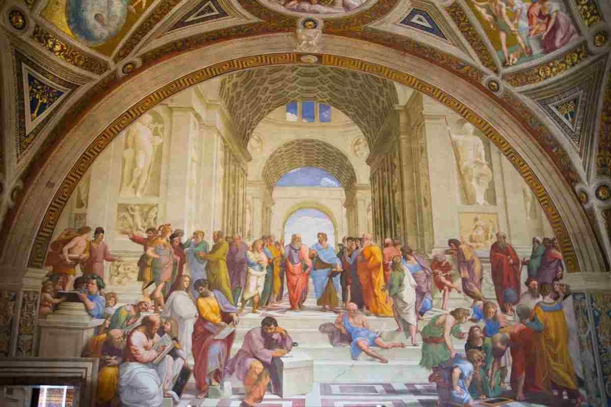 La Scuola di Atene, Raffaello - Musei Vaticani