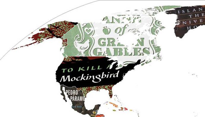 mappa nord america