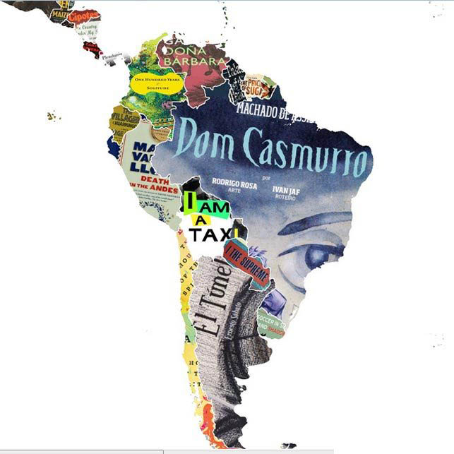 mappa sud america