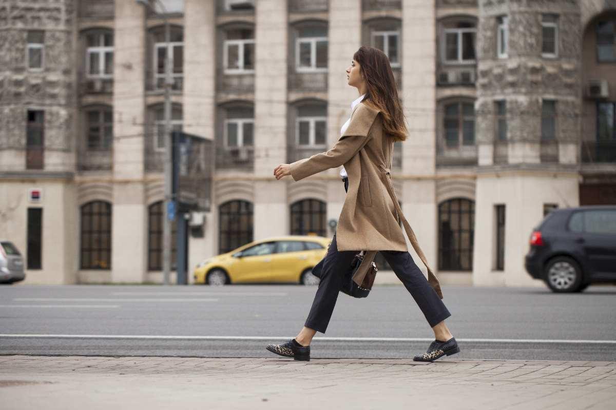 camminare velocemente