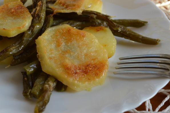 fagioli patate gratin