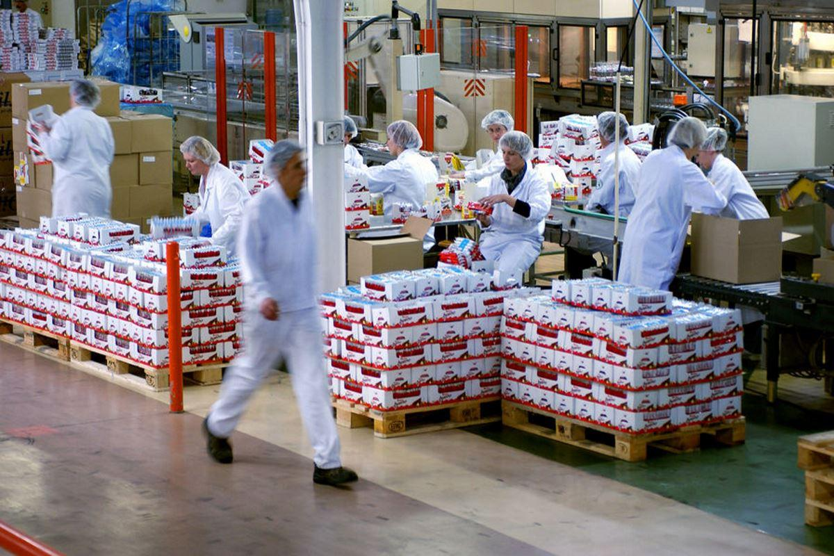 fabbrica Nutella