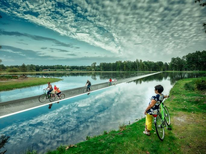 Pista ciclabile Belgio