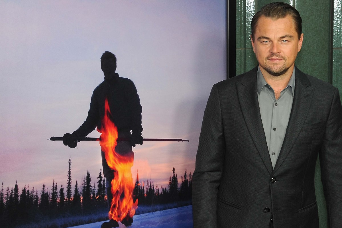 ice on fire dicaprio