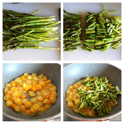 Ricetta Asparagi Verdi In Padella.Asparagi In Padella Con Pomodorini Ricetta Greenme
