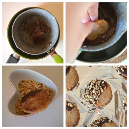 biscotti da tè olio miele 3