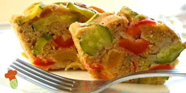 ciambellone salato di verdure