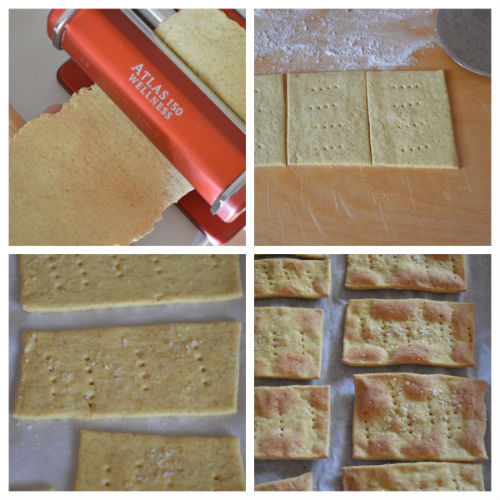 crackers curcuma senza lievito 3