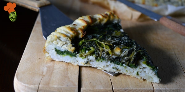 crostata patate e spinaci