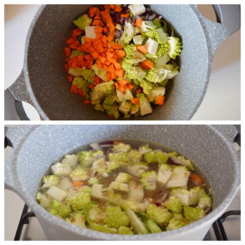 farro broccolo romanesco 1