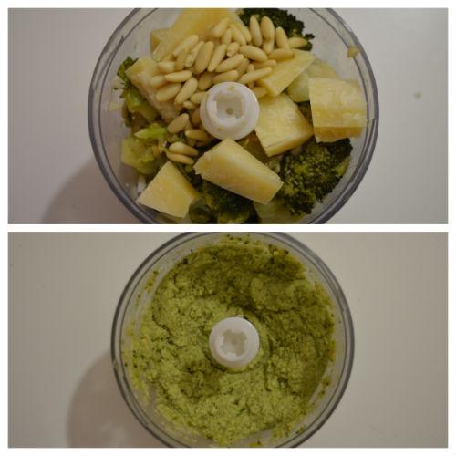 gnocchi pesto broccoletti 2