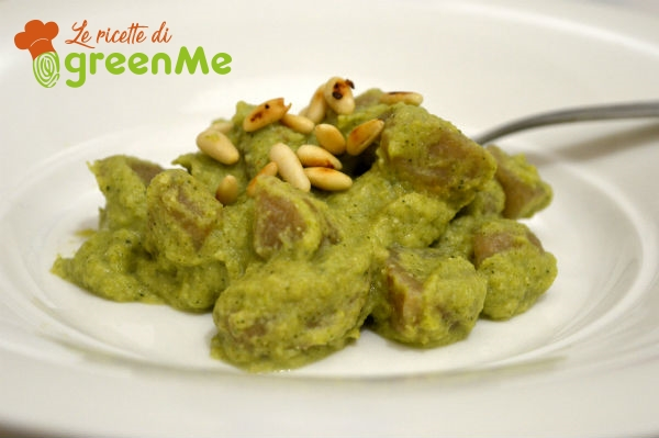 gnocchi pesto broccoletti 5