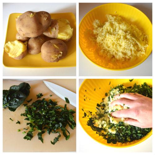 medaglioni spinaci e patate 2