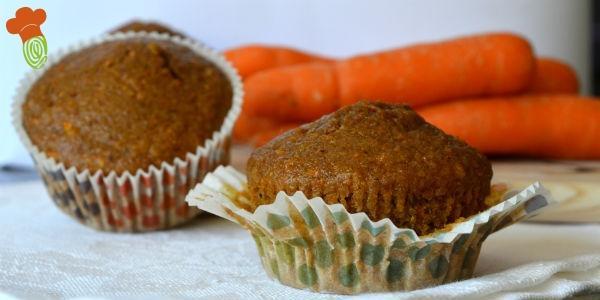 muffin carota senza burro