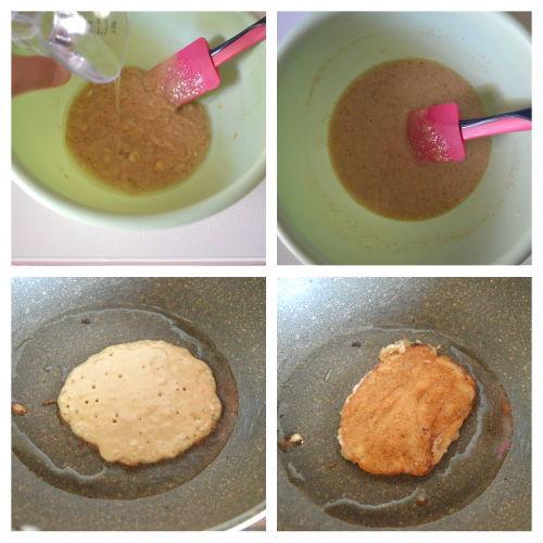 pancake zenzero e banana 2