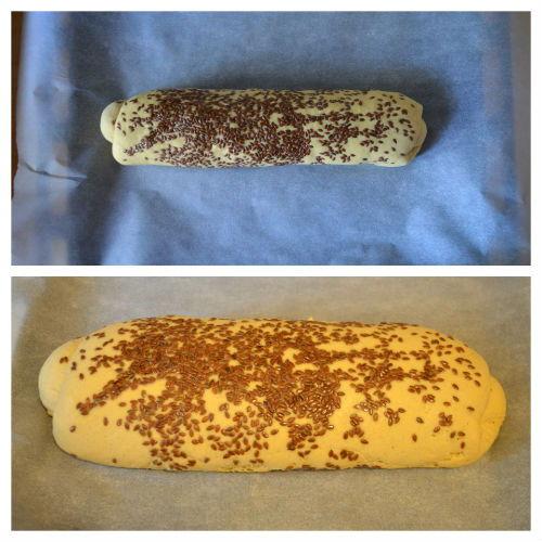pane di semola e farina di lupino 6