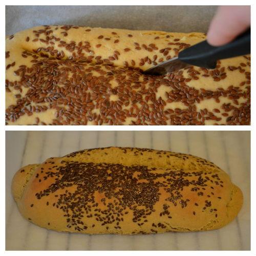 pane di semola e farina di lupino 7