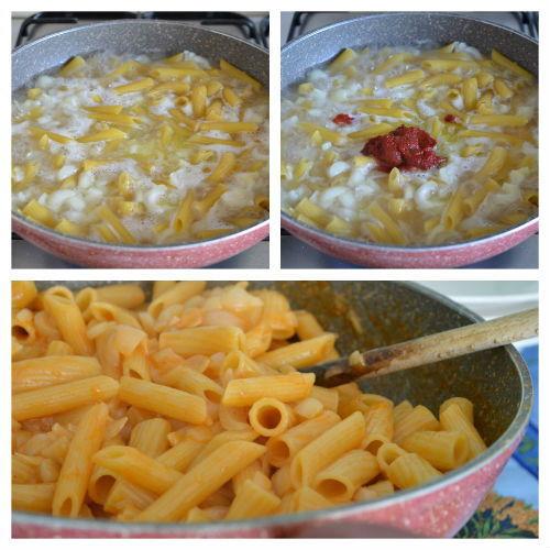 pasta risottata con cipolle 3