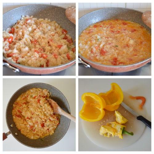 peperoni ripieni di quinoa 3