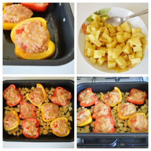 peperoni ripieni di quinoa 4