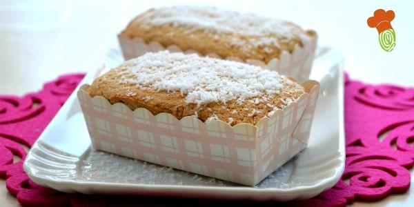 plumcake al cocco senza burro
