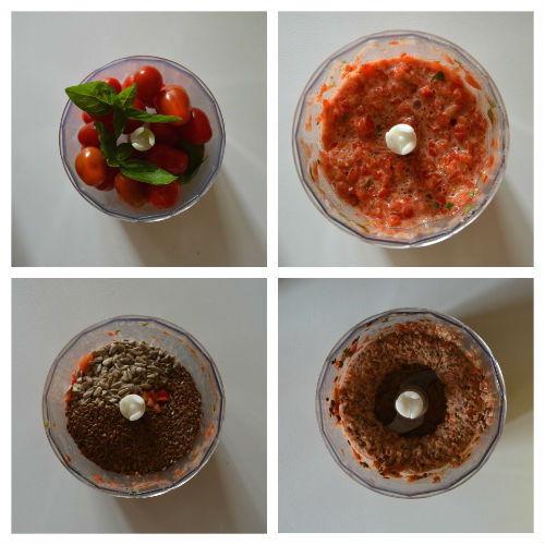 riso nero con pesto pomodorini 1