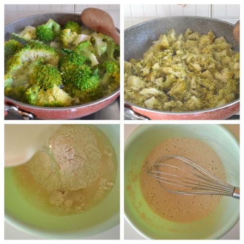 schiaccia di broccoli 1