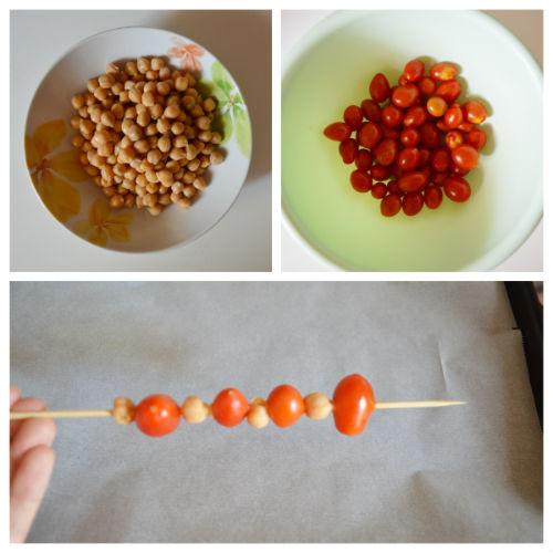 spiedini con ceci e pomodorini 1
