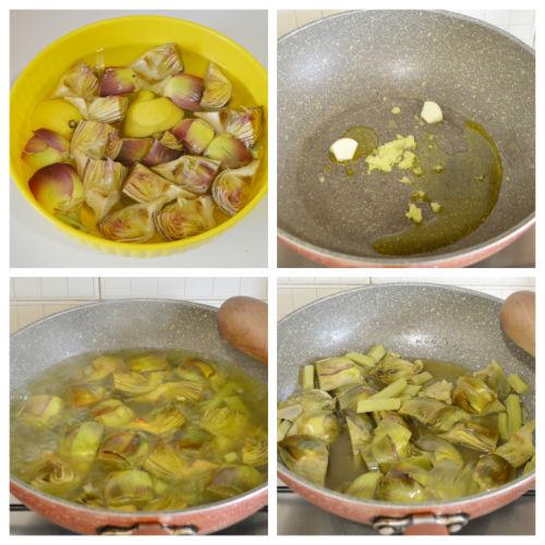 torta salata carciofi zenzero 1