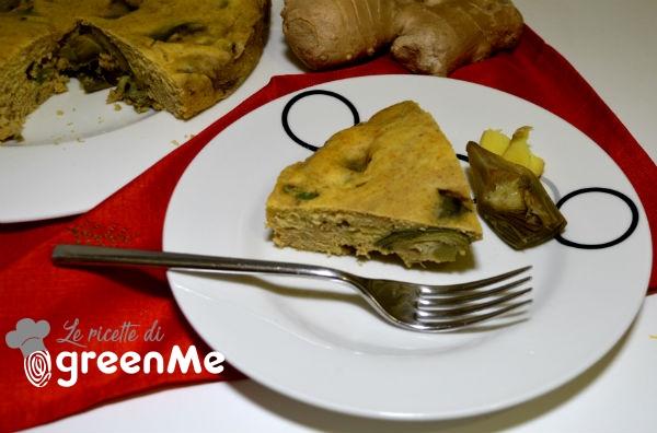 torta salata carciofi zenzero 4