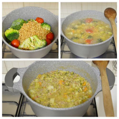 zuppa farro broccoli 2