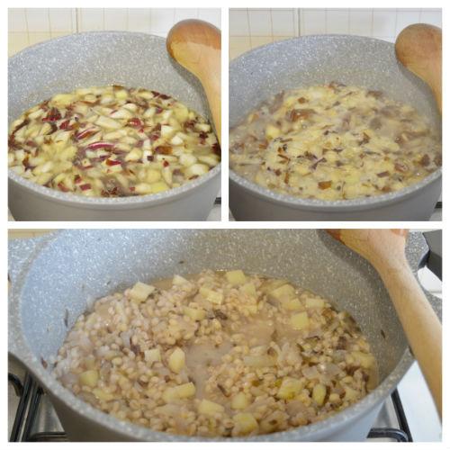 zuppa orzo e radicchio 3